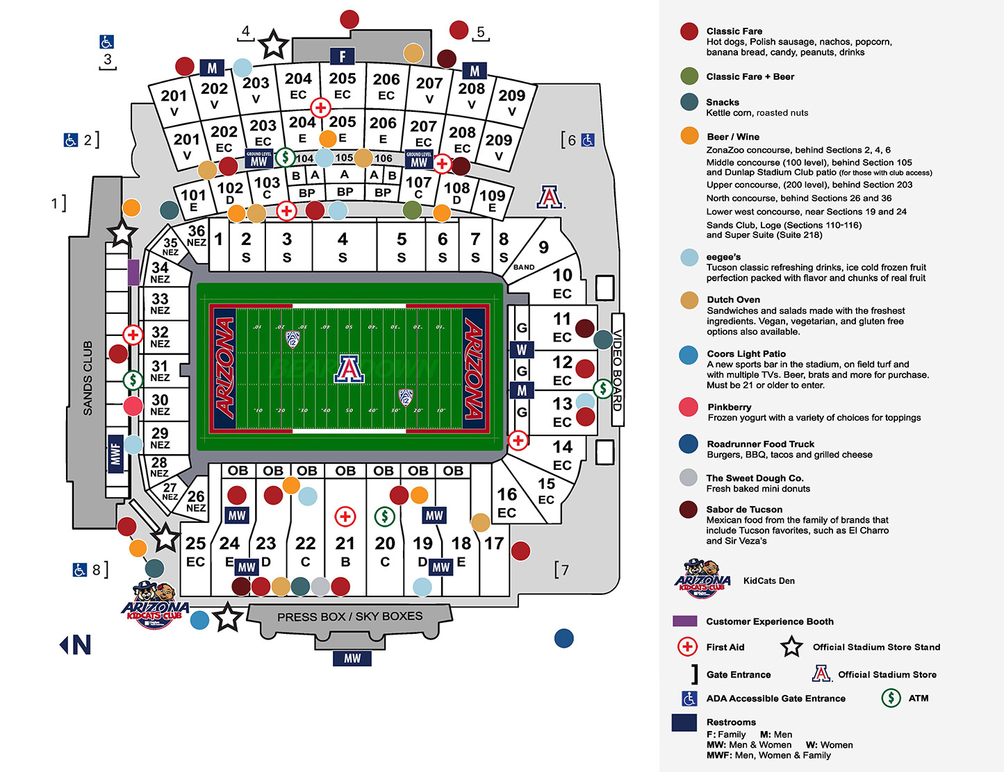 Football Game Day - University of Arizona Athletics