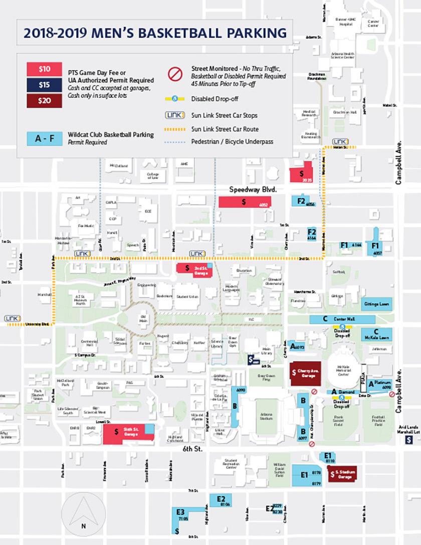 Parking Information - University of Arizona Athletics